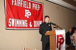 Almost 200 friends of Fairfield Prep Swimming & Diving gathered for a celebration to honor Coach Bruce Jaffe's retirement from coaching after 46 years. The Jesuits' 2011-12 Season was a perfect 12-0 record, winning the SCC, Class LL, State Open Championships, plus Coach of the Year. The event was held on June 12, 2012 at Vazzano's Four Seasons in Stratford.